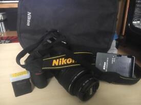 Nikon D3100 DSLR Camera Setup