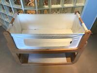 Snuzpod 2 3-in-1 bedside crib