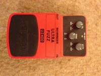 Behringer Ultra Fuzz Pedal