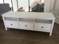 Ikea HEMNES white TV stand (£165 new!)