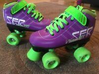 SFR Vision GT Quads Rollerskates size UK 1J EUR 33
