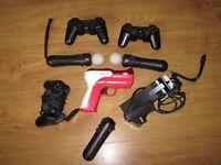 PS3 Slim - 300gb + Move bundle + 6 games