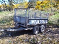 Ifor Williams tt85 tipping trailer