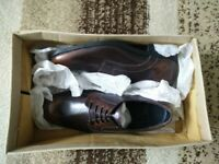 ASOS Derby Shoes – Brown – Size 5 – £27