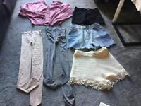 Bundle ladies clothes shorts size S/8 used 6 items Good condition £7