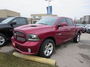"2014 Ram 1500 Sport - Hemi bedliner  8.4"" touch screen"