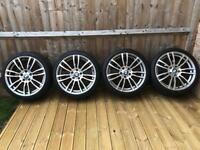 """Bmw 19"""" 403m sport alloy wheels"""