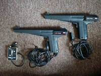 2x Light Phaser 1x RF Switch (spares or repairs)