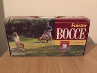 Bocce balls set