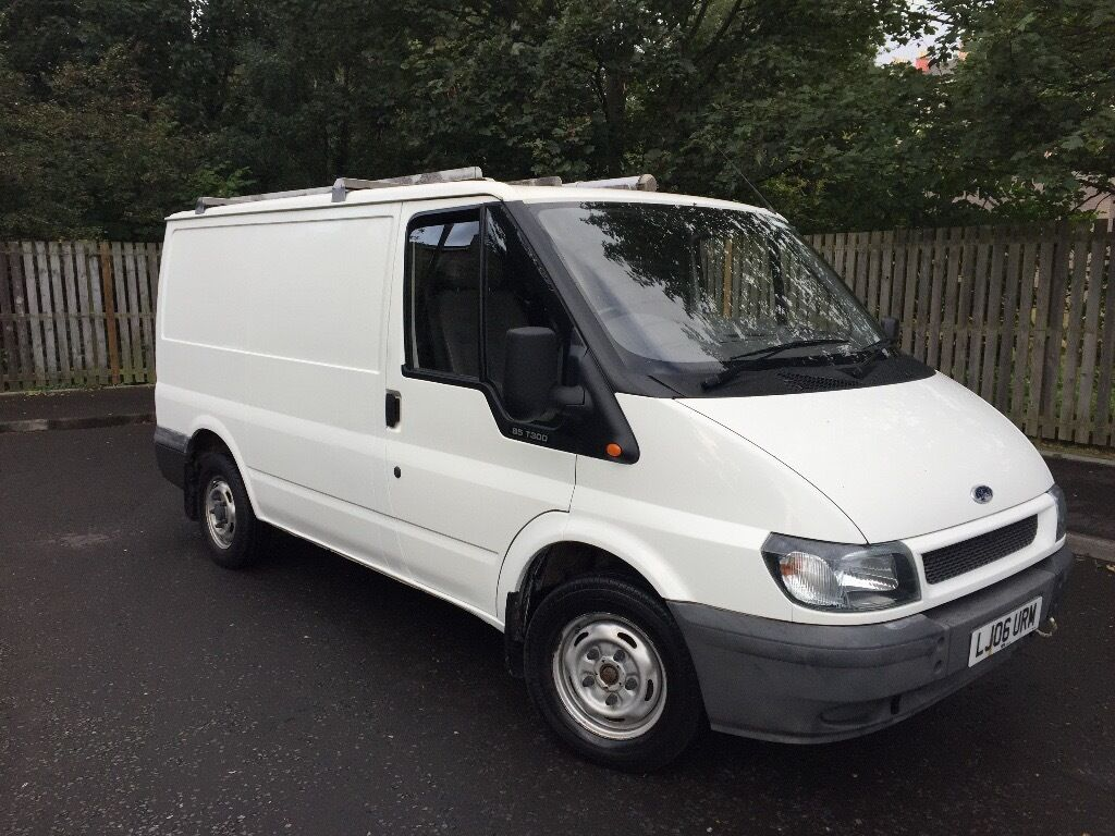 ord transit 2.0 diesel panel van 2006 mot 10 months 1 owner regular services