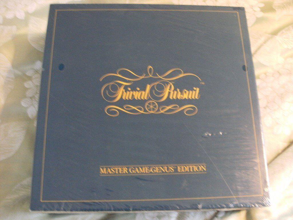 VINTAGE TRIVIAL PURSUIT GENUS EDITION (Sealed Brand New & Boxed)