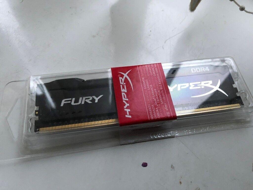 HYPER FURY DDR4 4GB MEMORY /RAM