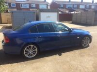 BMW 320I m sport in blue spares and repairs
