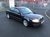 Skoda superb elegance late 06 real genuine car cheap for quick sale