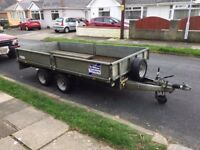 Ifor Williams LM125 Trailer - 12ft x 5ft 6""