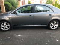 Toyota avensis with 1 year mot