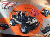 Meccano Radio Control 3 models truck