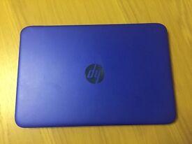 "HP STREAM 11"" BLUE- GREAT PRICE"