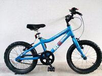 "(2580) 16"" Lightweight Aluminium RIDGEBACK MX16 Boys Girls Bike Bicycle Age: 5-7 Height: 105-120cm"