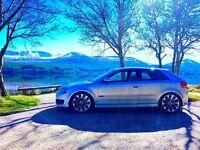 Audi S3 8P tfsi, 67k, 1yr mot, Quattro, not m3, evo, Subaru, type r, golf, gti, a3