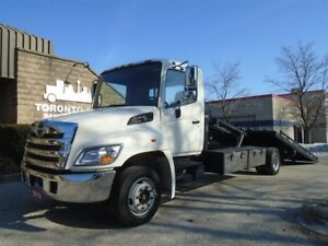 2012 Hino 268 Two car carrier,21ft deck,Regular licence.