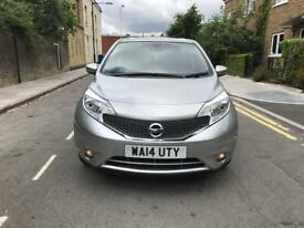 Nissan Note 1.2 auto 2014 with mot top condition hpi clear
