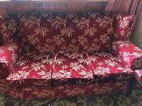 FREE 3 seater sofa and 2 chairs