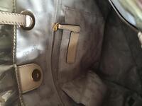 100% authentic- new MICHAEL KORS metallic tote