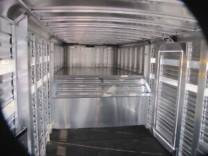 2016 Adams Trailers 16' ALL ALUMINUM STOCK TRAILER Peterborough Peterborough Area image 9