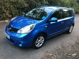 Very clean and nice nissan note for sell