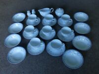 St Malo Vintage / Retro 8 Piece Tea Set Dishwasher safe