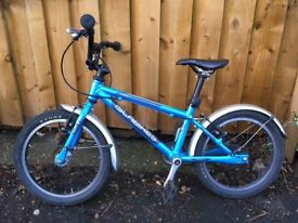 Islabike cnoc 16 with mudguards in good condition