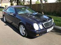 2001 Mercedes Benz CLK 320 V6 Long Mot Convertible Future Classic Engine like new
