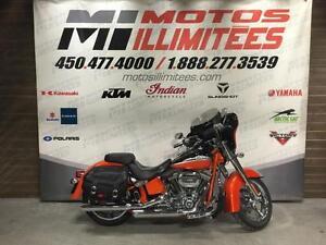 2010 Harley-Davidson FLSTSE CVO SOFTAIL