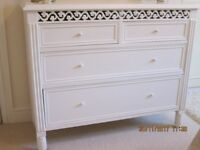 FRENCH SHABBY CHIC SET OF DRAWERS