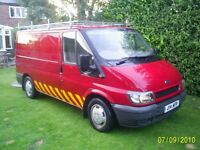 FORD TRANSIT MK 6, 2001, BREAKING FOR SPARES, £300