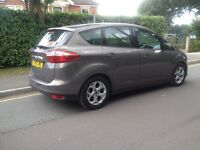 2013 Ford C Max ZETEC mpv 1.6 diesel £30 road tax. Very economical