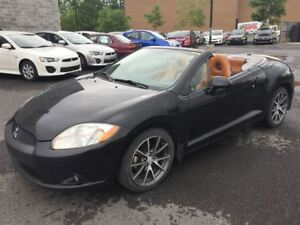 2012 Mitsubishi ECLIPSE SPYDER GS DECAPOTABLE MAGS+CUIR TERRACOT