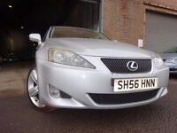 56 LEXUS IS 220 DIESEL 2.2,MOT JAN 018,FULL SERVICE HISTORY,2 KEYS,,STUNNING EXAMPLE,VERY RELIABLE