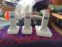 Binatone Style 1210 Trio Cordless Phones With Answer Machine