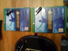 2x Guitar Hero Xbox One