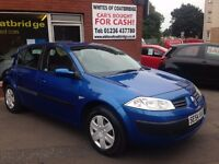 RENAULT MEGANE 1.4 16V RUSH 5DR- JUST IN 9 SERVICE STAMPS - FULL SERVICE HISTORY..NICE DRIVER