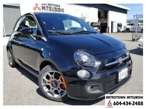 2013 Fiat 500 Sport; Local & LOW KMS!
