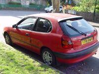 Toyota Corolla, 3 door, 1.3 Red 1999