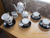 Beautiful Rare German (Bavarian) WinterlingMarktleuthen China Tea Set Decorative