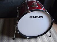 Yamaha Stage Custom Drum Kit with Mapex Snare & Hardware