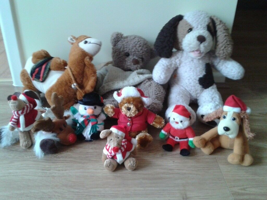 BUMPER BIN LINER OF SOFT TOYS, ALL IN A VGC, MORE ADDED