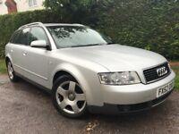 2002 Audi A4 avant 1.9 tdi diesel estate full service history April 2019 mot