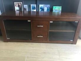 TV UNIT IN WALNUT BOUGHT FROM NEXT