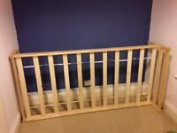 Single pine bed ideal for children